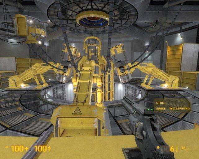 Half-Life lässt grüßen! Die Entwickler arbeiteten länger als acht Jahre an Black Mesa.