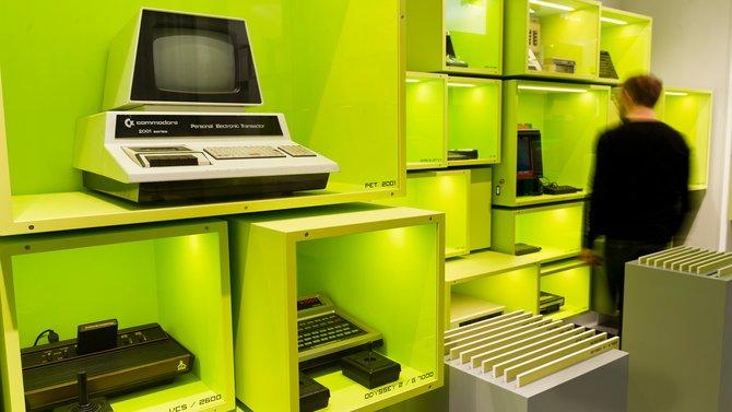Das Computerspielemuseum in Berlin zeigt mit viel Hardware die Geschichte der Computer auf.