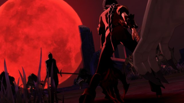 Die Nacht des Blutmondes. Hier nimmt Velvets Schicksal seinen Lauf.