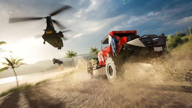 Ein Höhepunkt 2016: Forza Horizon 3.