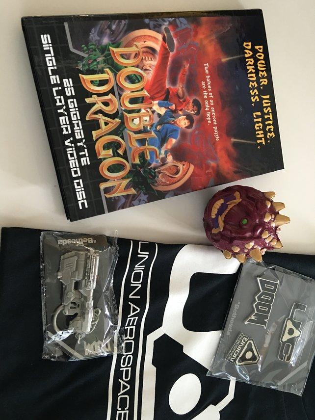 Double Dragon von Hellbone Entertainment und ein paar Extras zu Doom könnt ihr hier gewinnen.