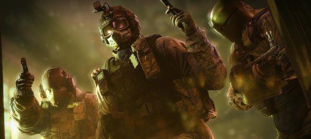 Die Spezialeinheiten sehen ziemlich martialisch aus.