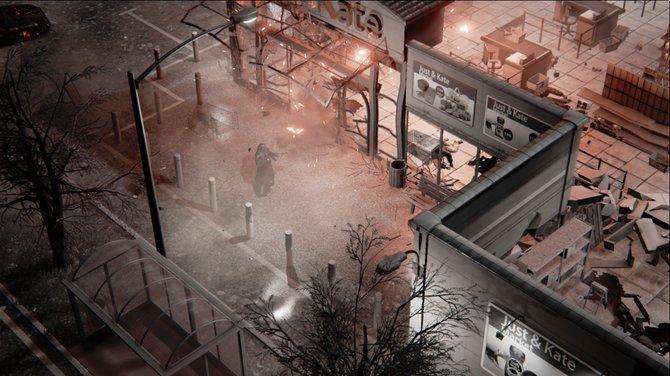 Die Grafik des Spiels ist aus einer Draufsicht zu sehen.
