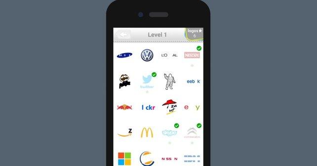 In Logo Quiz gibt es über 2.500 verschiedene Logos.