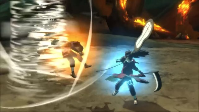 Naruto Shippuden - Ultimate Ninja Storm 4 bietet überzeugende Effekte.