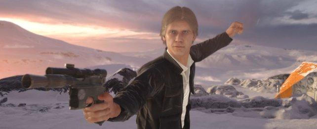Han Solo dürft ihr auch spielen