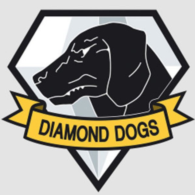 Das Diamond Dogs Emblem