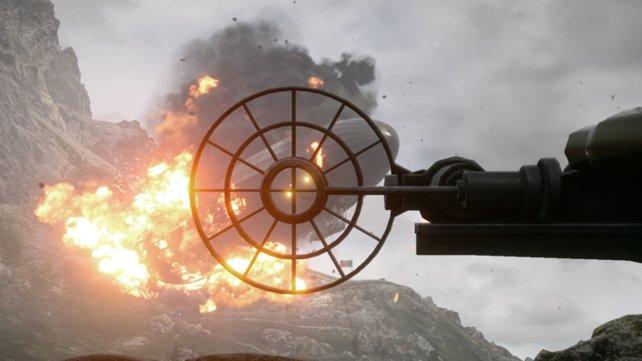 Die Behemoths tragen einen großen Teil zur Atmosphäre der Schlachten bei.