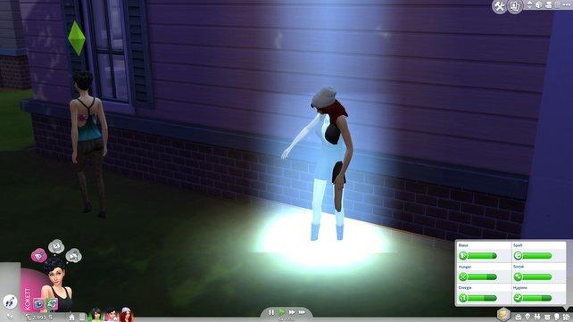 Aliens lieben es erneut, eure Sims zu entführen.