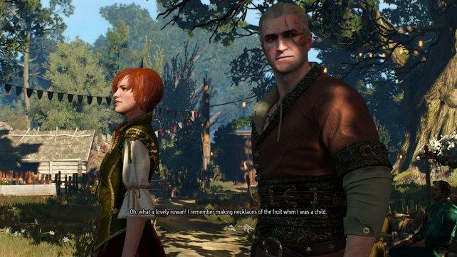 Serien-Veteranen kennen Shani aus dem ersten Witcher-Abenteuer.