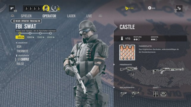 Operator Castle