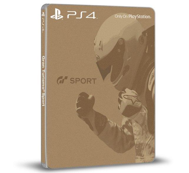 Gran Turismo Sport Limited Edition: Das Steelbook zur Sonderedition.