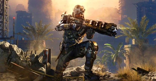 In Call of Duty - Black Ops 3 verschlägt es euch wieder in die Zukunft.