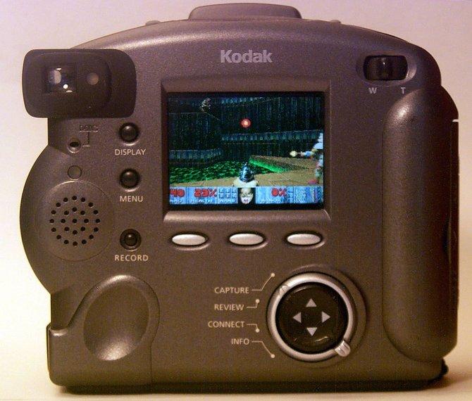 Doom läuft auf Kameras von Kodak.