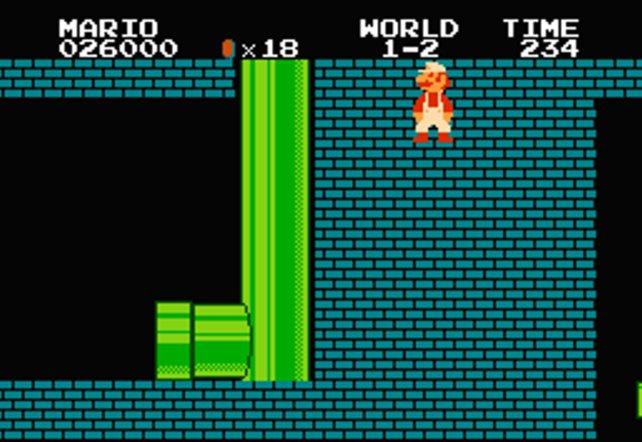 Schon bald entdecken findige Spieler den heutzutage berühmtesten aller Programmierfehler: den Zugang zur sogenannten Minuswelt.