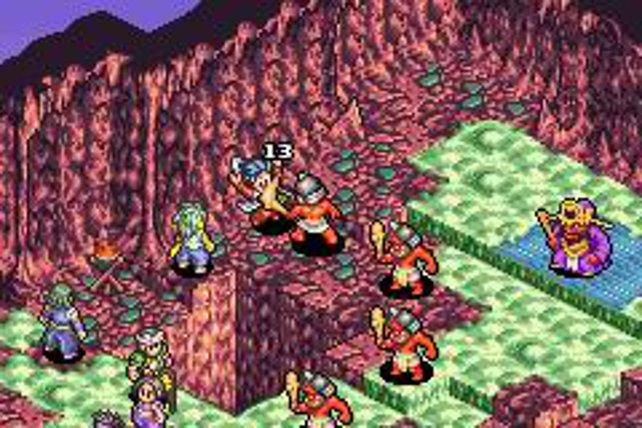 Onimusha versucht sich als taktisches Rollenspiel auf dem GBA.