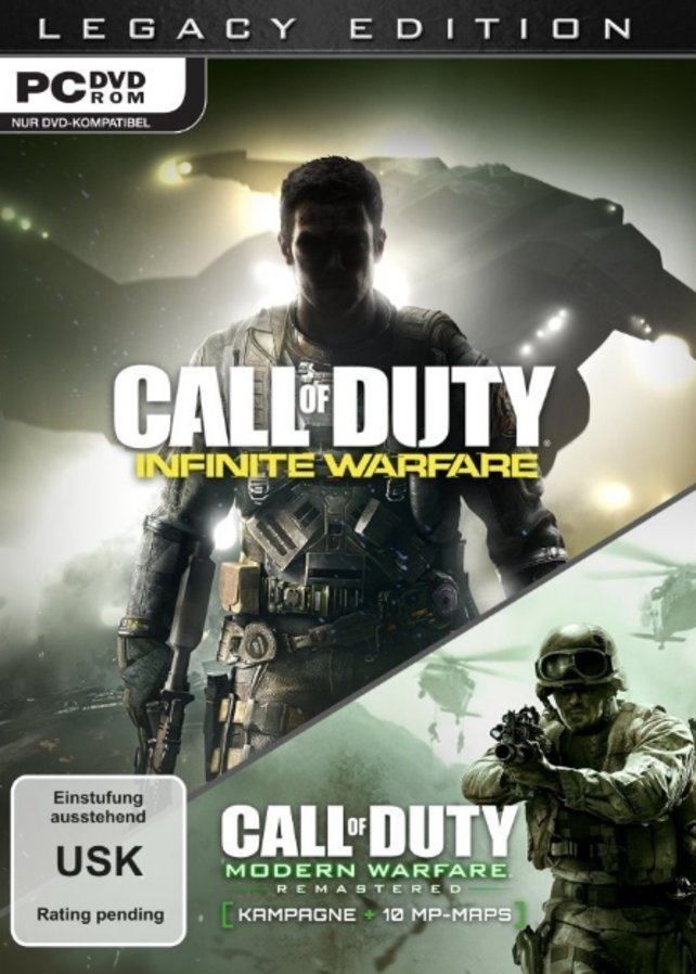 Die Legacy Edition von Infinite Warfare liefert euch gleich zwei Spiele.