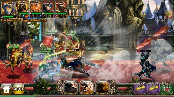 In Dragon Blaze tretet ihr mit eurem Charakter gegen eine Vielzahl an Feinden an.
