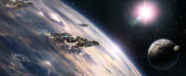 Der Weltraum ... dies sind eure eigenen Abenteuer.