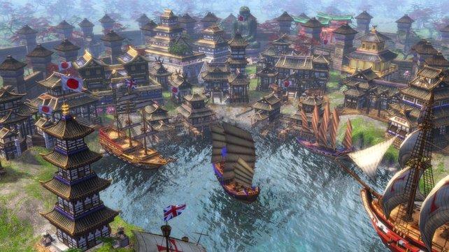 Die Cheats von Age of Empires 3 (hier im Bild die HD-Version) ermöglichen euch nahezu alles im Spiel.