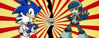 Sonic trollt Mighty No.9