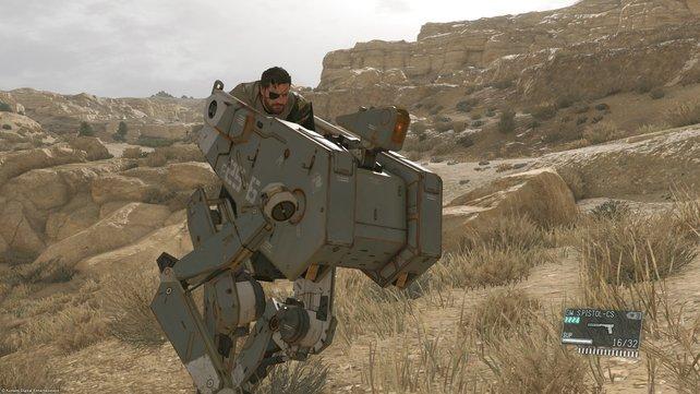 Warum nicht gleich 4 Walker Gears auf einmal stehlen! (Mission 15)