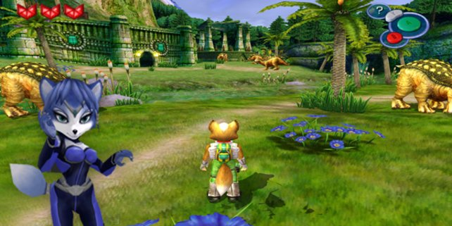 Das einzige Adventure in der Starfox-Reihe heißt passenderweide ... nun, Starfox Adventures halt.