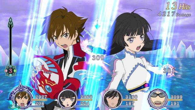 In stilechter Manga-Optik wachsen euch die Darsteller ans Herz.