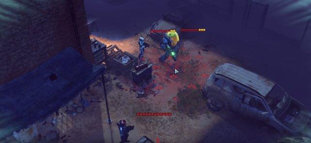 Andromedon im Gefecht