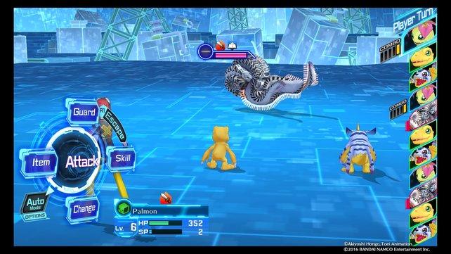 Im nördlichsten Areal von Kowloon Lv. 1 trefft ihr auf dieses ominöse Digimon.