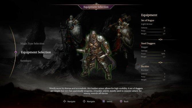 In Lords of the Fallen wählt ihr aus, als welche Klasse Hauptfigur Harkyn in den Kampf zieht.