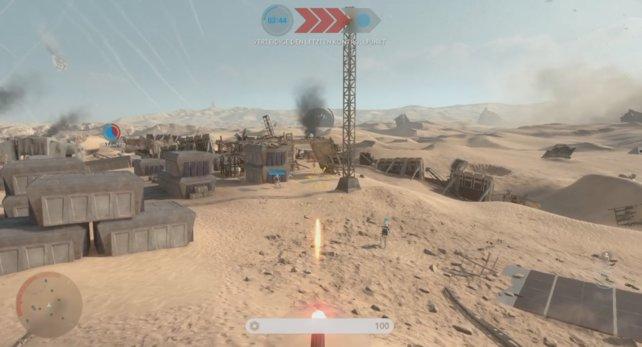 Das Imperium in der Defensive: Stellungen halten
