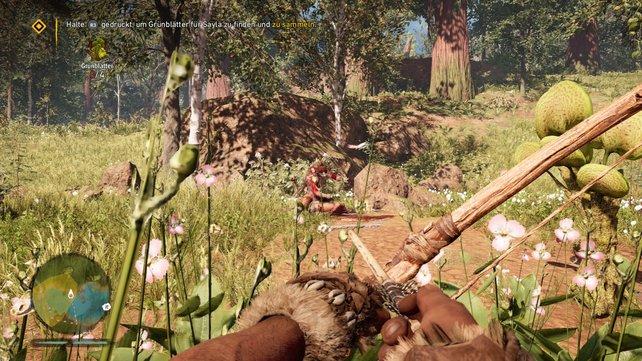 Far Cry Primal: Mit neuen Fähigkeiten fällt euch das Schleichen um einiges leichter.