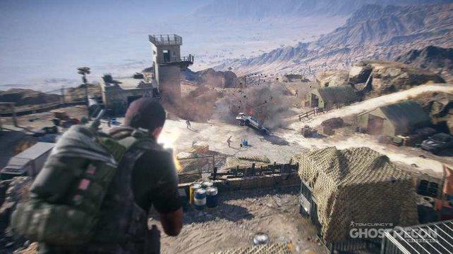 Die einfachste Lösung eine Mission zu bewältigen, ist der frontale Angriff.