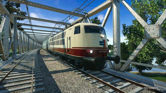 Die Züge aus Train Fever sind ebenfalls wieder mit dabei.