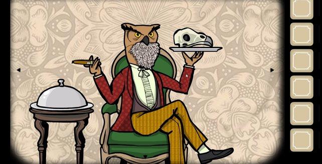 Mr. Owl erwartet euch bereits.