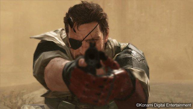 Pistole oder doch lieber auf leisen Sohlen? The Phantom Pain macht euch zum Schmied über Venom Snakes Glück.