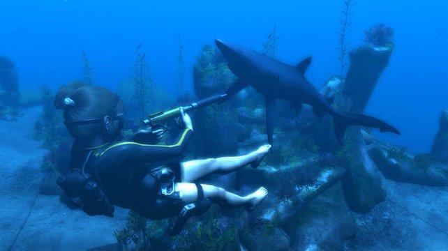 Unterwassergefechte in Underworld.