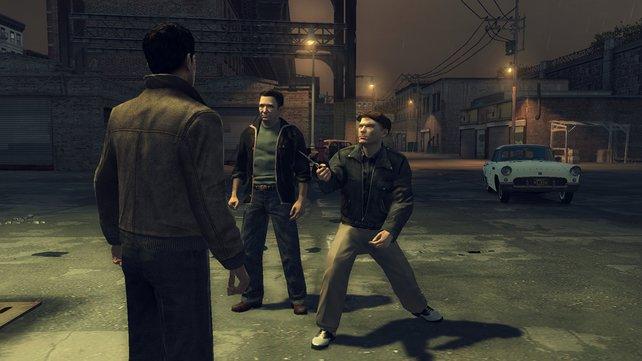 Verdammte Axt! In Mafia 2 wird ganz schon viel geflucht.