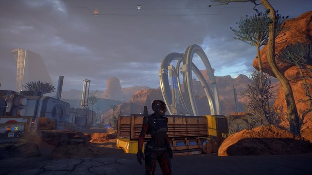 Eos ist der erste Planet auf dem ihr euch austobben könnt.