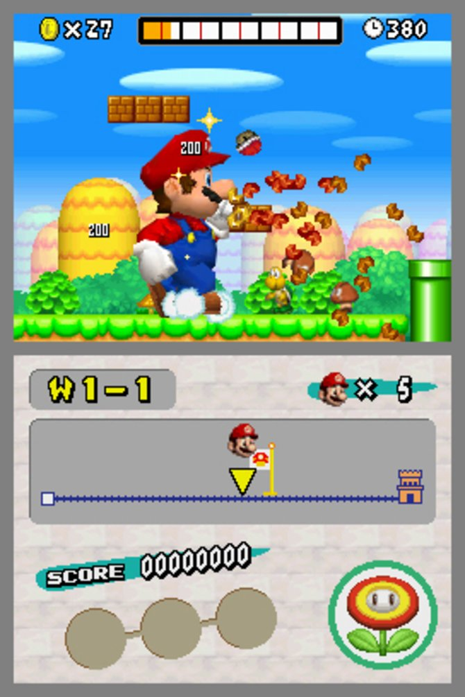 Kassenschlager: Laut Nintendo wurde das Renn und Hüpfspiel New Super Mario Bros. über 20 Millionen mal verkauft.