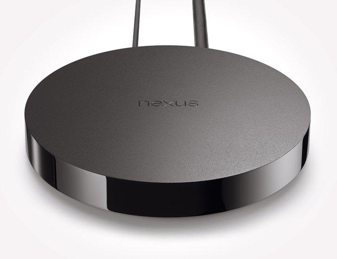 """Google hat seinen """"Amazon Fire TV""""-Konkurrenten vorgestellt: Der Nexus Player, der Audio, Video und Videospiele wiedergeben kann."""