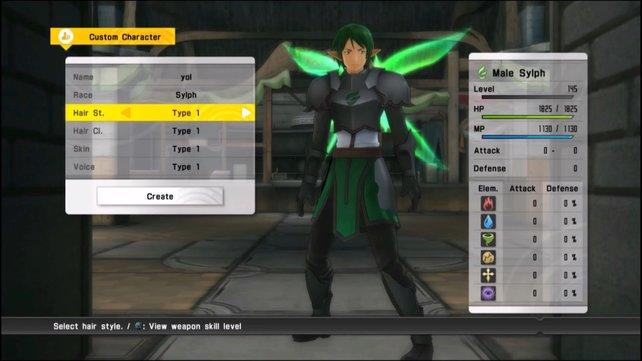 Bis zu drei eigene Charaktere könnt ihr mithilfe eines Editors erstellen und gemeinsam mit den anderen Charakteren im Team mitkämpfen lassen.