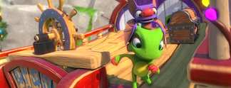 Tests: Yooka-Laylee: Eine �bung in Beinahe