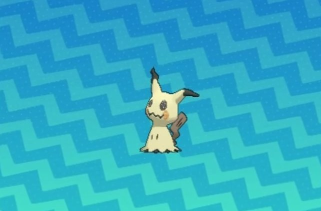 Mimigma kann das Aussehen seiner Pikachu-Verkleidung spontan verändern.