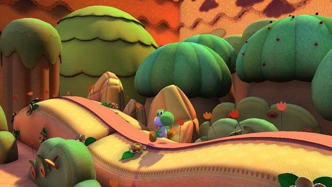 Dino Yoshi begibt sich auf Wii U zu seinem flauschigsten Ausflug.