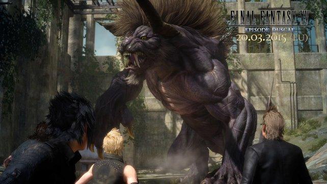 Das ist ein Behemoth. Viel Spaß bei dem Versuch, ihn zu besiegen!