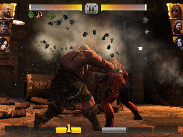 In einer Paralleldimension werden aus Wrestlern noch muskulösere Prügelhelden.