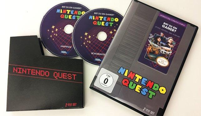 Neu im Handel: Der Film Nintendo Quest.