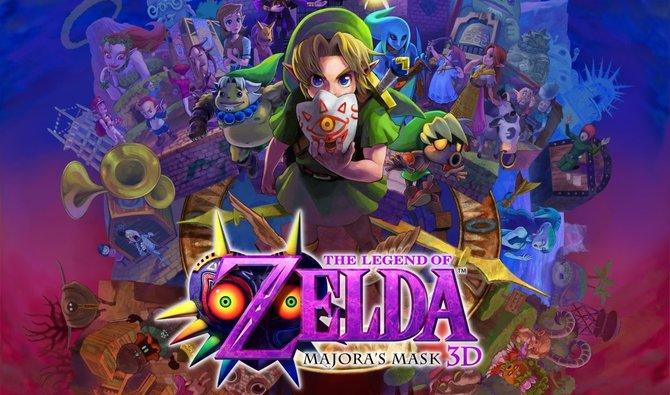 The Legend of Zelda - Majora's Mask 3D ist eine Neuauflage des N64-Spiels von 2000.
